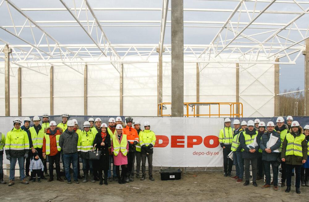 Ka eestlaste hulgas populaarne Depo ehituspood avab järgmisel aastal Tallinnas poe