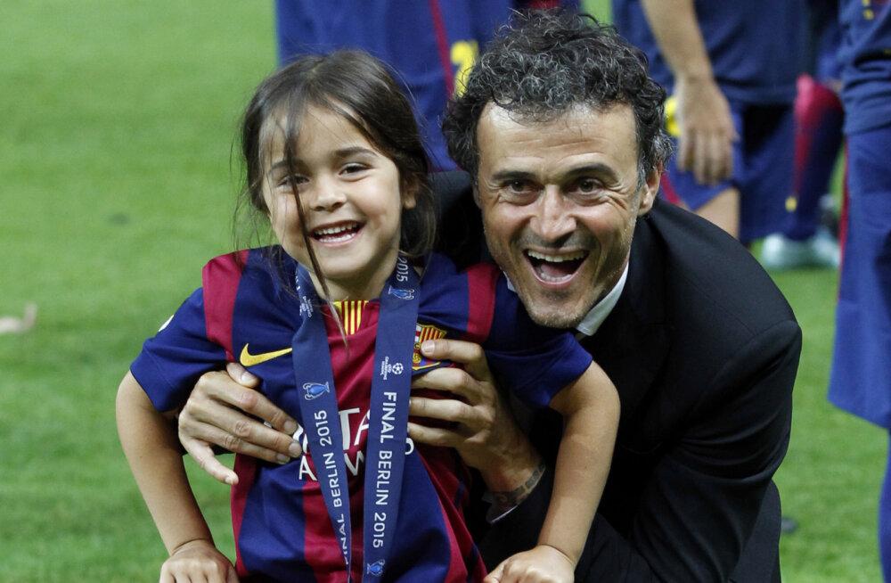 Endise Barcelona ja Hispaania koondise treeneri tütar suri üheksa-aastaselt vähki