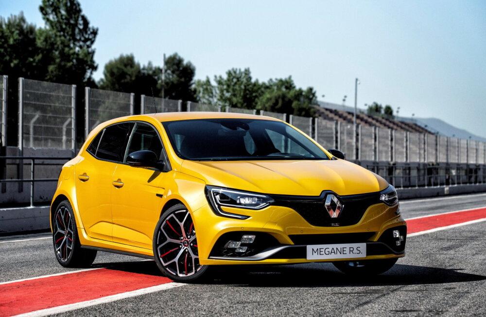 Renault Megane RS: eelkäijast rafineeritum kuumpära