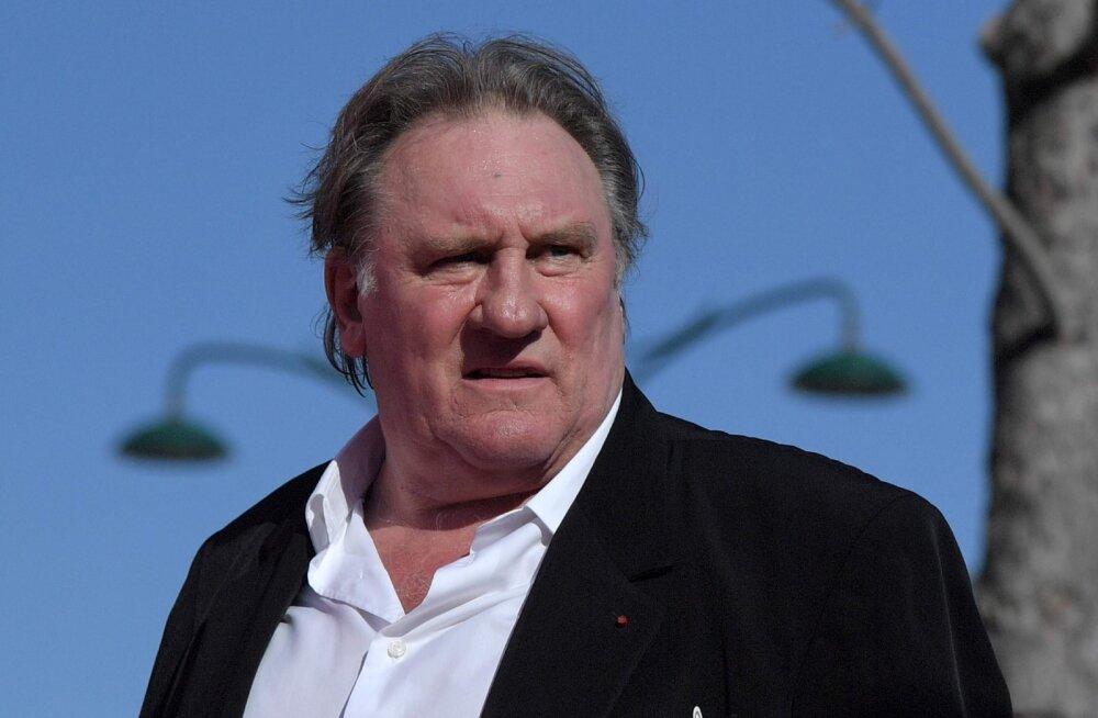 Filmistaar Gerard Depardieud süüdistatakse vägistamises ja kallaletungis