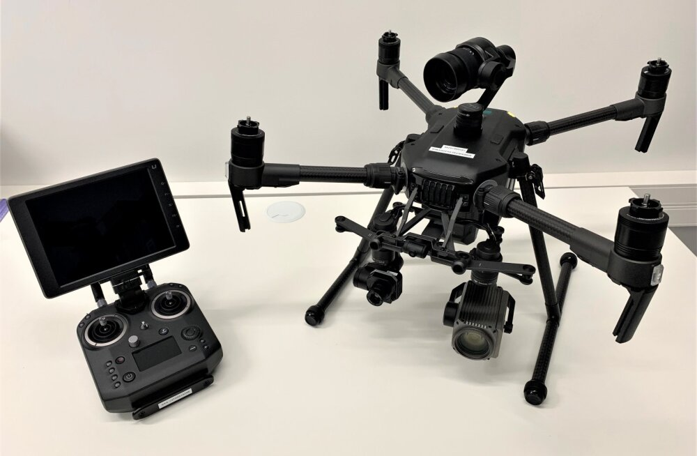 Politsei püüab piirangute rikkujaid nüüd sisekaitseakadeemia droonide abil