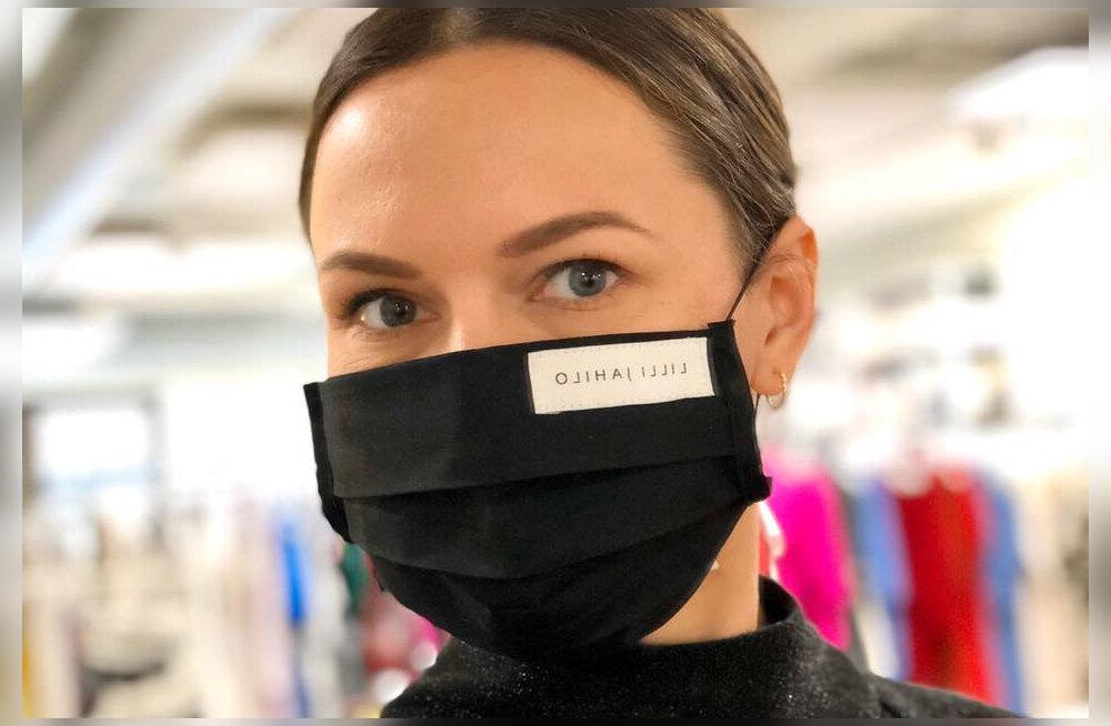 ФОТО   Модно и безопасно! Известный эстонский модельер шьет маски для лица