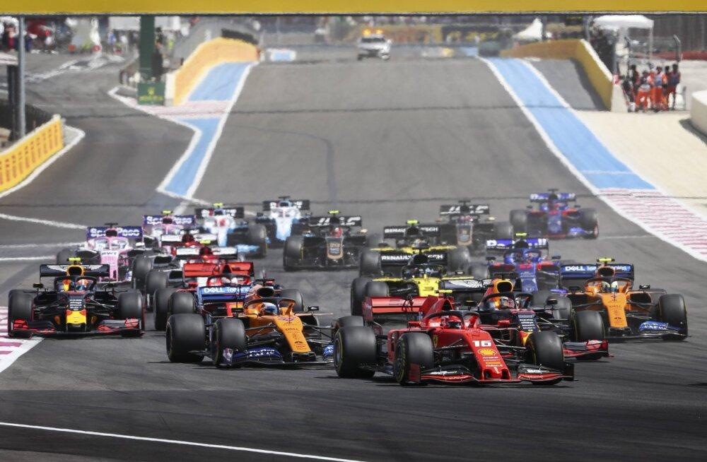AMETLIK | Prantsusmaa GP jääb ära, enne juulit vormelihooaeg ei alga