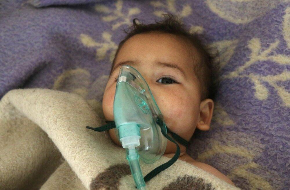 Üsna üksmeelselt arvatakse, et al-Assad oli oma rahva vastu korraldatud keemiarünnakuga karistusaktsiooni ära teeninud.
