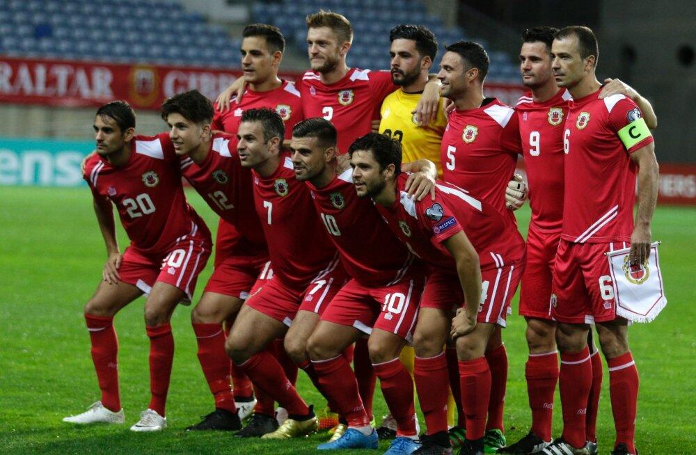 Gibraltar võõrustab Eesti koondist Portugalis