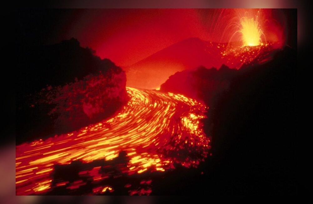 Kas suur vulkaanipurse võiks hävitada kogu elu Maal?