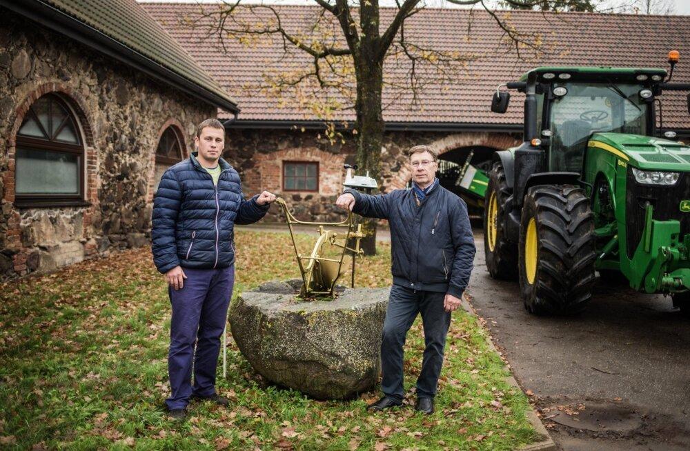 Rainer Leidik ja Aare Leidik Luunja Mõisa OÜst on väga kõvad rukkikasvatajad. Lisaks on nad renoveerinud ajaloolise mõisakompleksi, kus on stiilsed töö- ja puhkeruumid.