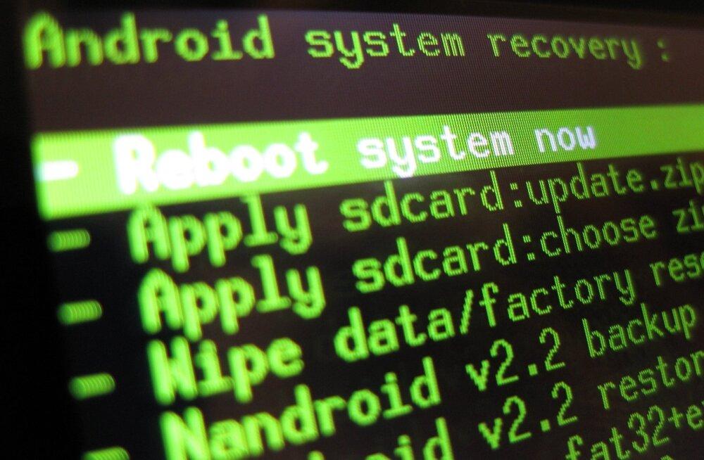 Root-imine tähendab nutitelefonis kõigi õiguste võtmist.
