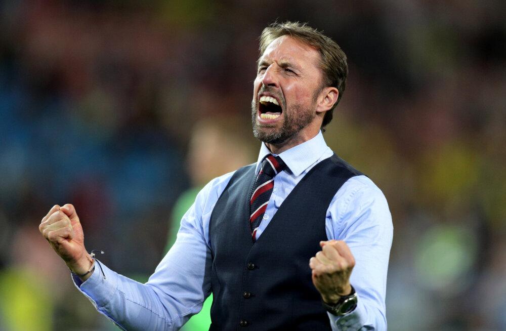 Inglismaa peatreener Southgate: ma ei taha veel koju minna!