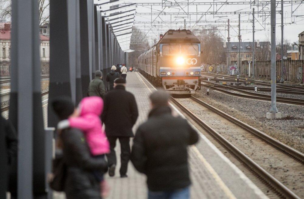 Курсирование поезда Таллинн — Санкт-Петербург — Москва временно приостановлено