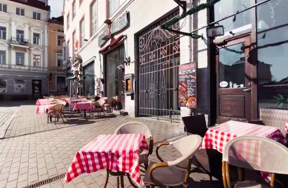 VIDEO | Tallinnast on saanud kummituslinn — vaata nukralt lummavaid kaadreid inimtühjast vanalinnast