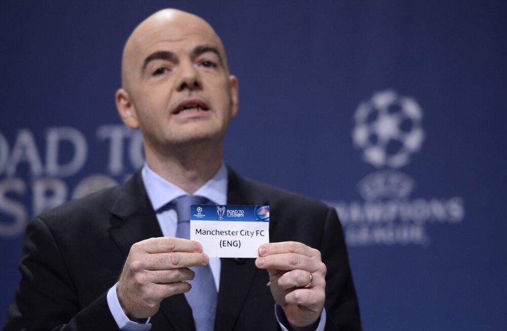 """FIFA süüdistab dokumendilekkes """"teatud meediaväljaandeid"""", kes tahavad president Infantinot kukutada"""