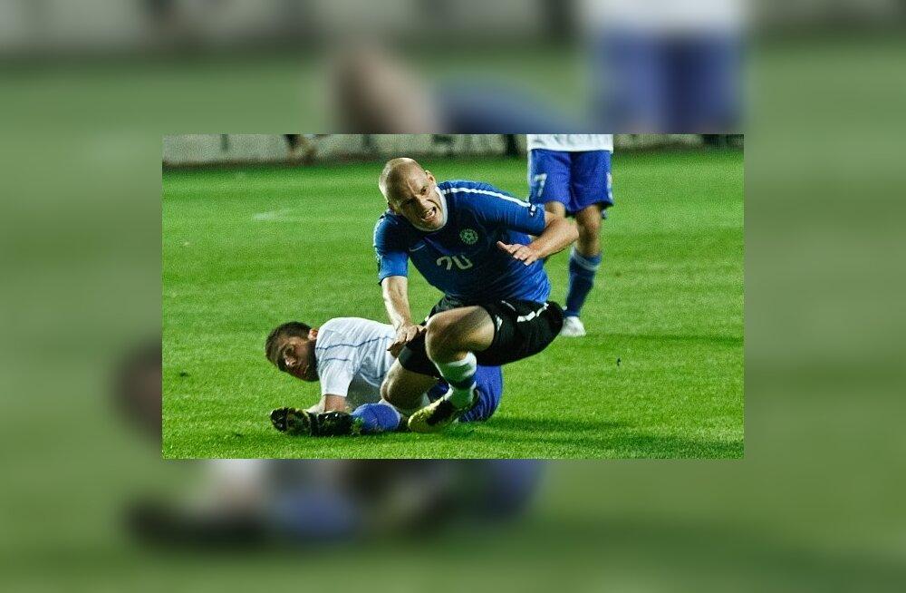 Selgus Eesti jalgpallikoondise koosseis mänguks Türgiga