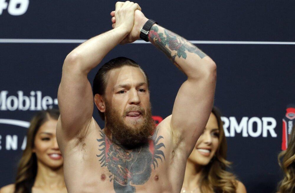 UFC pealik andis põneva vihje Conor McGregori tuleviku osas