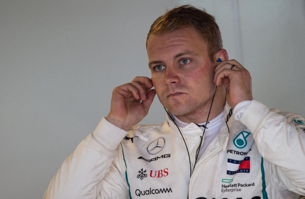 Ootamatu uudis: Valtteri Bottas istub Fordi WRC auto rooli