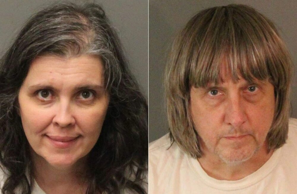 ФОТО: В США арестованы супруги, удерживавшие в заточении 13 своих детей