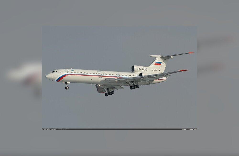 Venemaa lennuk rikkus täna Eesti õhupiiri
