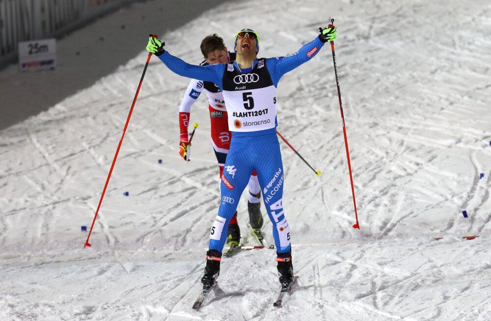 Pellegrino napsas Ustjugovi eest sprindikulla, ameeriklannadele kaks medalit