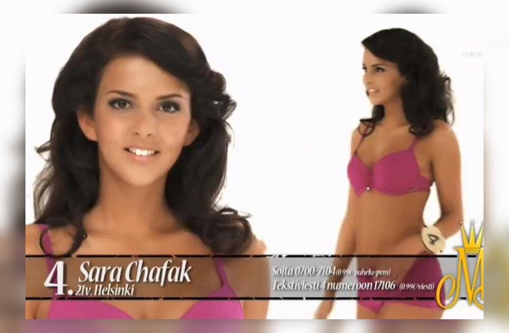 Таллиннская студентка завоевала титул Мисс-Финляндия 2012