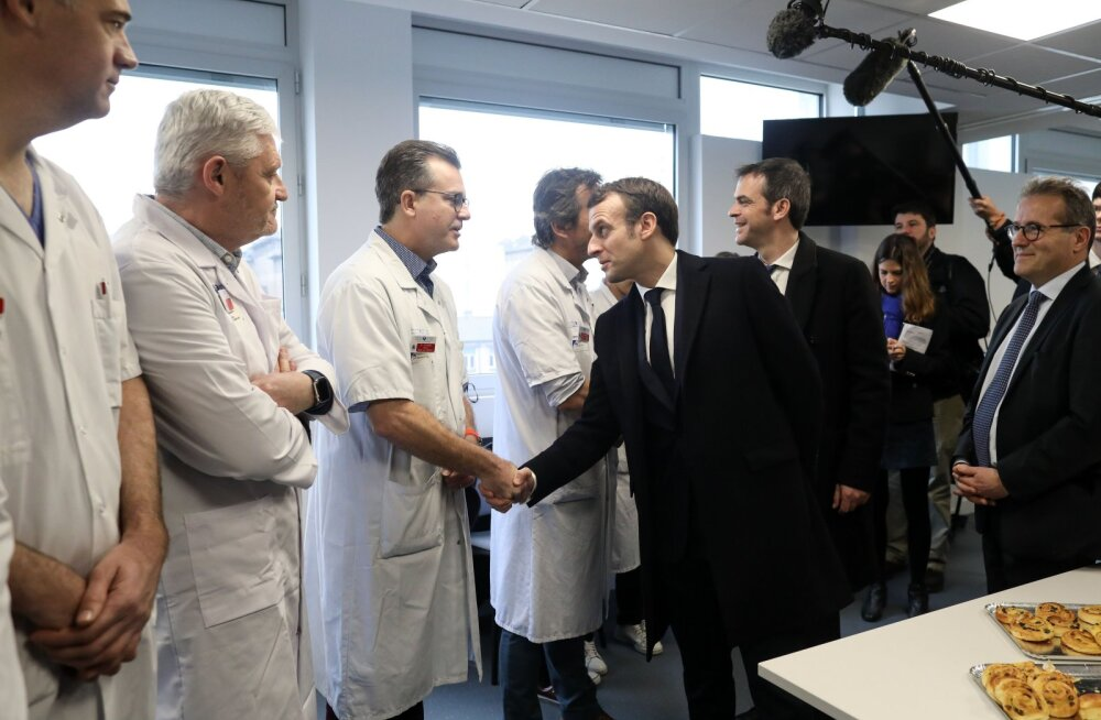 Prantsusmaal nakatus ööpäevaga koroonaviirusesse 20 inimest