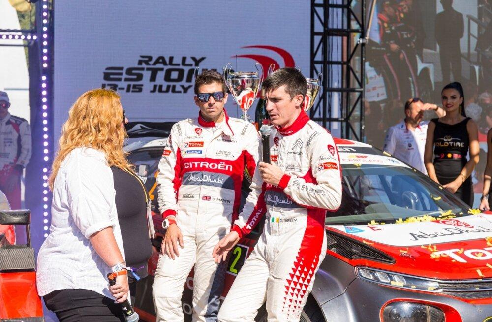 Craig Breen osales Rally Estonial ka mullu – seda veel Citroëni autoga.