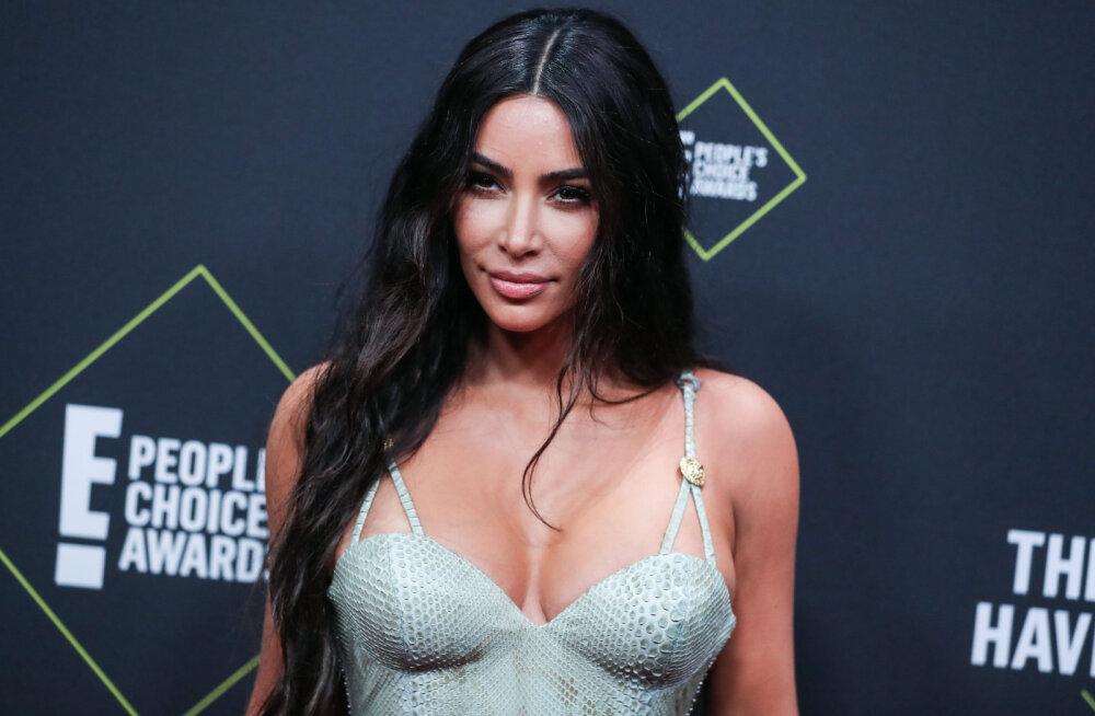 KLÕPS | Kim Kardashiani külmik ajab fännid marru: kas te üldse elate seal?