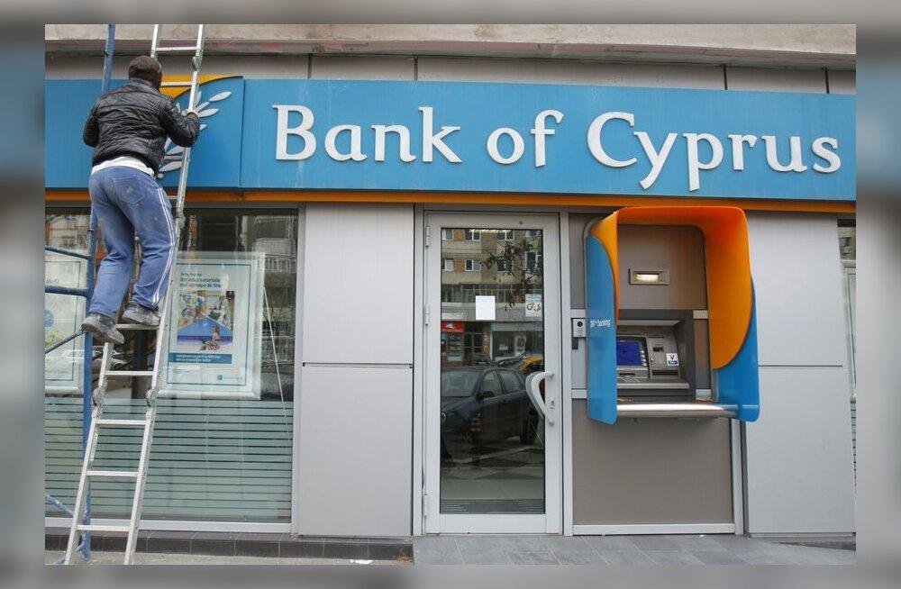 Küprose pangajuhid paluvad parlamendil päästepaketiga nõustuda