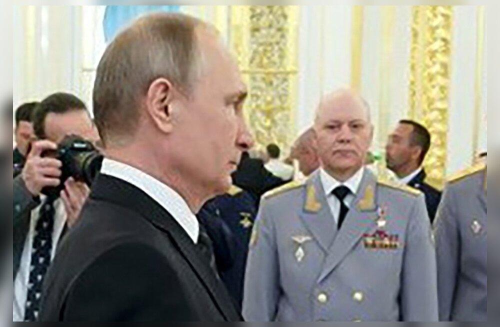 GRU äsja surnud juhil hakkas väidetavalt halb pärast Putini juures vaibal käimist
