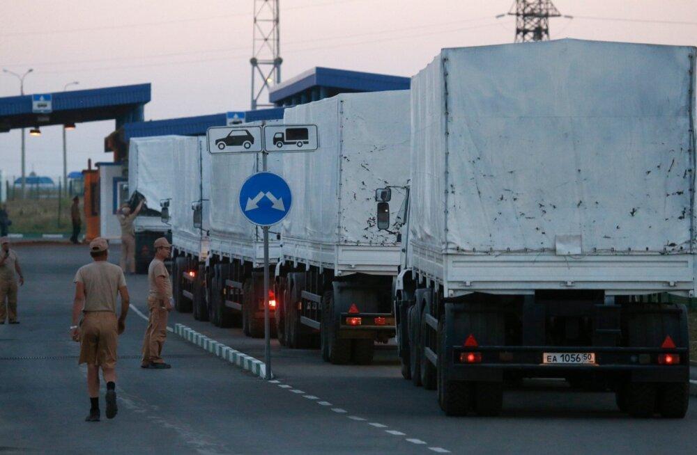 Ukraina nõustus Venemaa ettepanekuga veoautode keeld kaotada