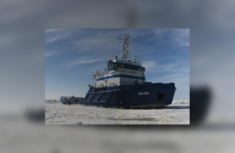 Uudne mõõtesüsteem Tehnikaülikoolilt: satelliidid, droonid ja laevad aitavad merejääst läbi murda