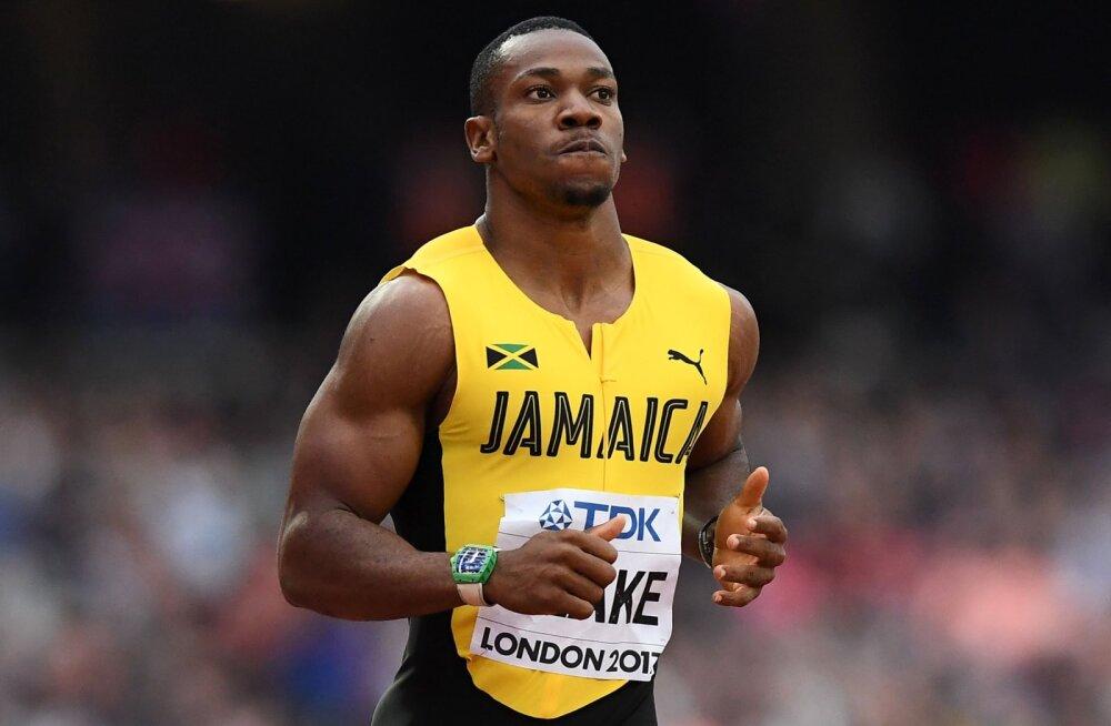 Jamaica 100 m teatenelik peab finaalis läbi ajama Yohan Blake'ita?