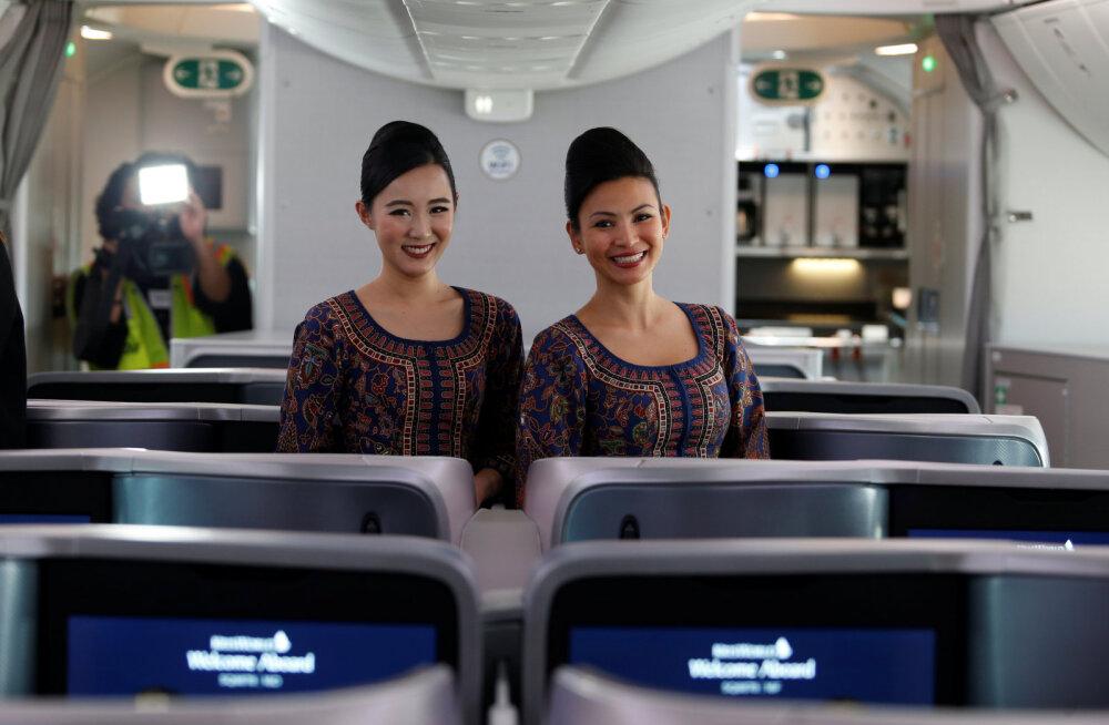 Maailma parim lennukompanii vahetus