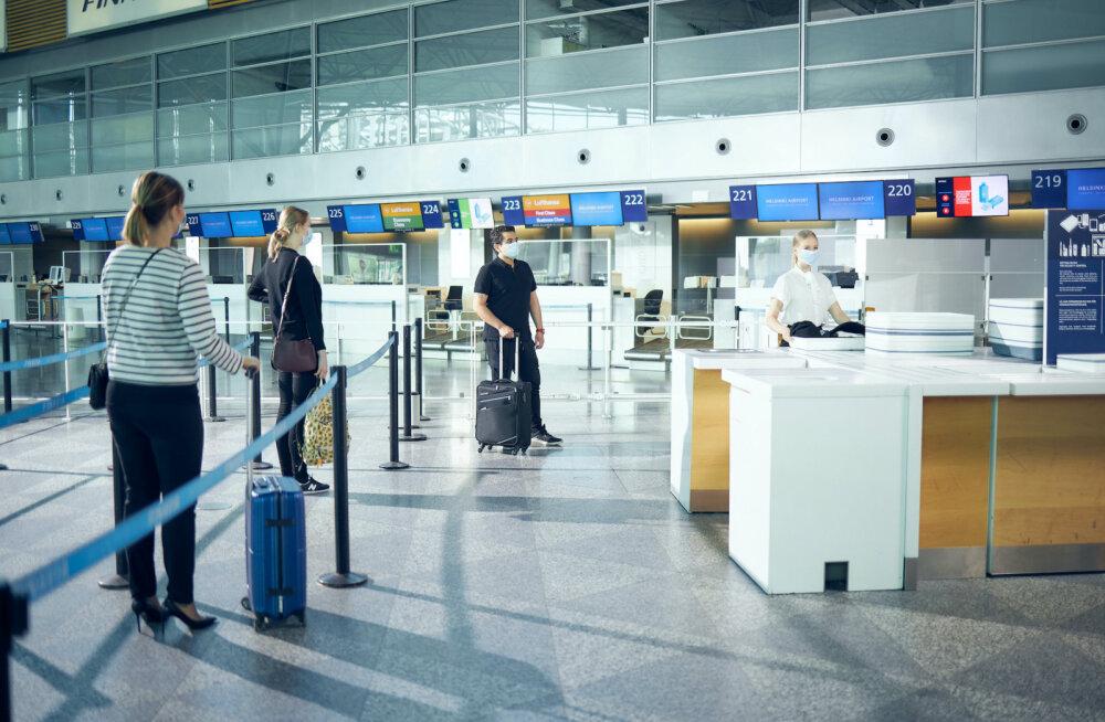 Из-за кризиса, вызванного коронавирусом, в аэропорту Хельсинки резко сократилось количество пассажиров