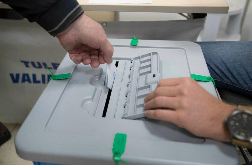 15. oktoober 2017. KOVi valimised