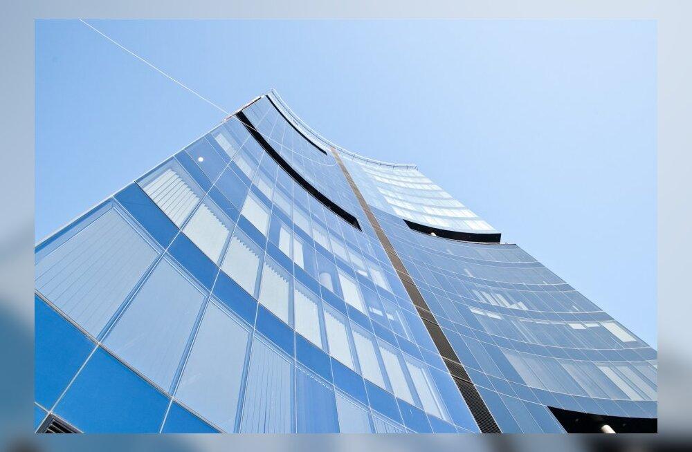 Tallinnasse kerkib järjest enam büroohooneid.