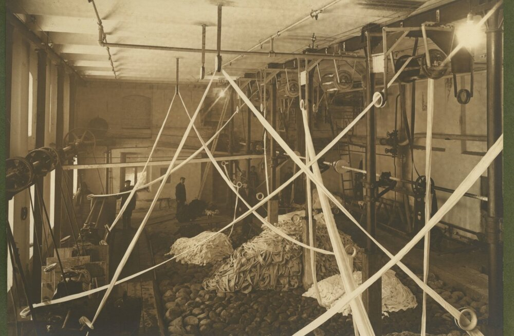 1930ndate aastate vabrik Pärus, Sindis