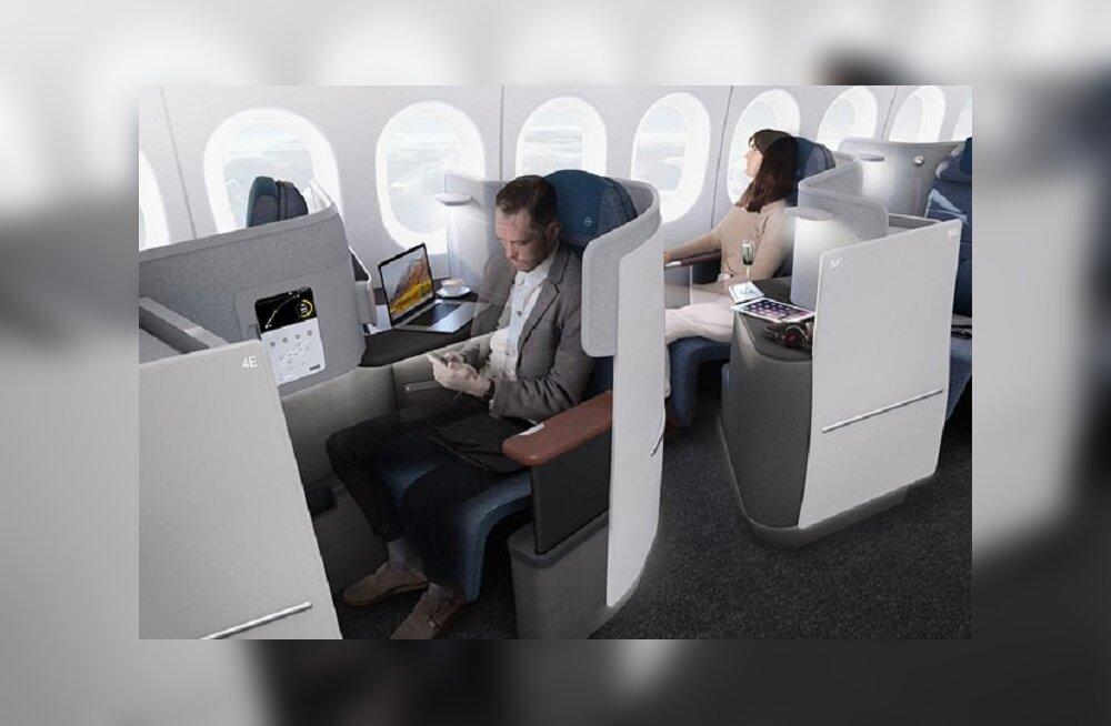 Каким будет бизнес-класс в самолетах будущего