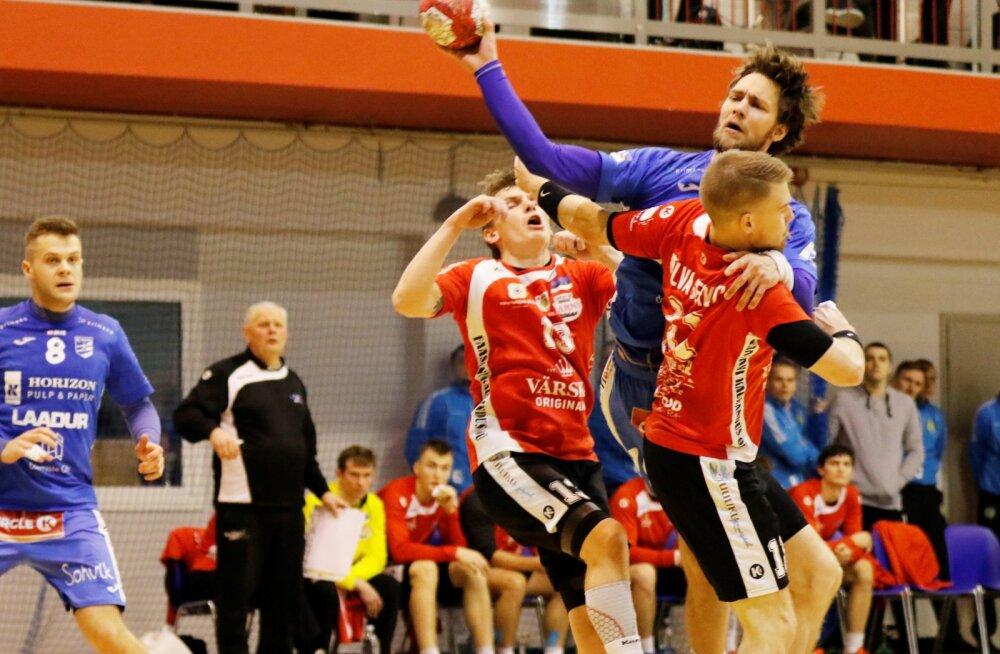 Käsipalli karikafinaalis kohtuvad Serviti ja Viljandi