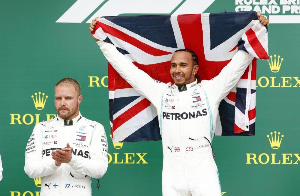 Bottas arvas, et ühe boksipeatuse strateegia pole Silverstone'is variant