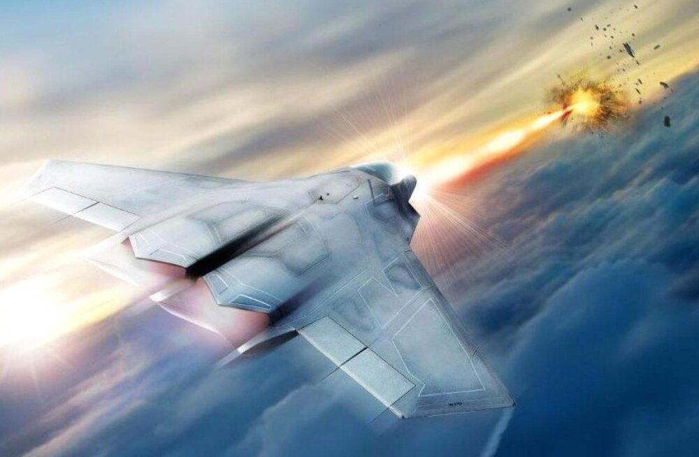 Tulevikusõda: laserid jõuavad juba nelja aasta pärast hävituslennukite relvastusse