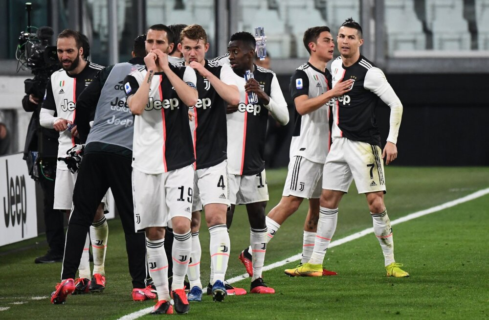 90 miljonit säästetud: Juventuse tähtede palgad peatati neljaks kuuks