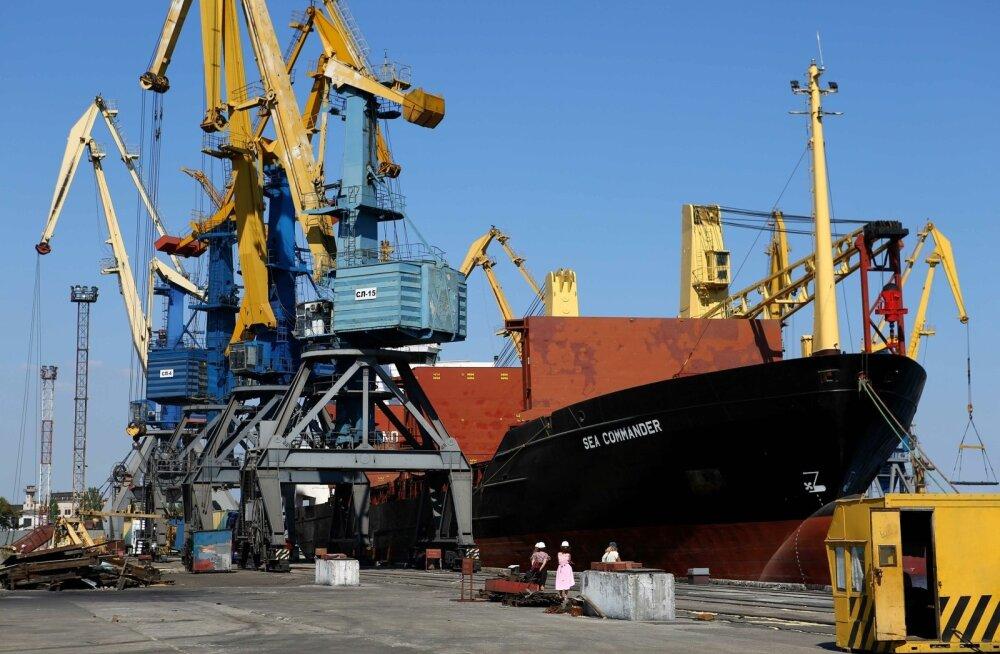 Ukraina infrastruktuuriminister: Venemaa on blokeerinud Ukraina Aasovi mere sadamad