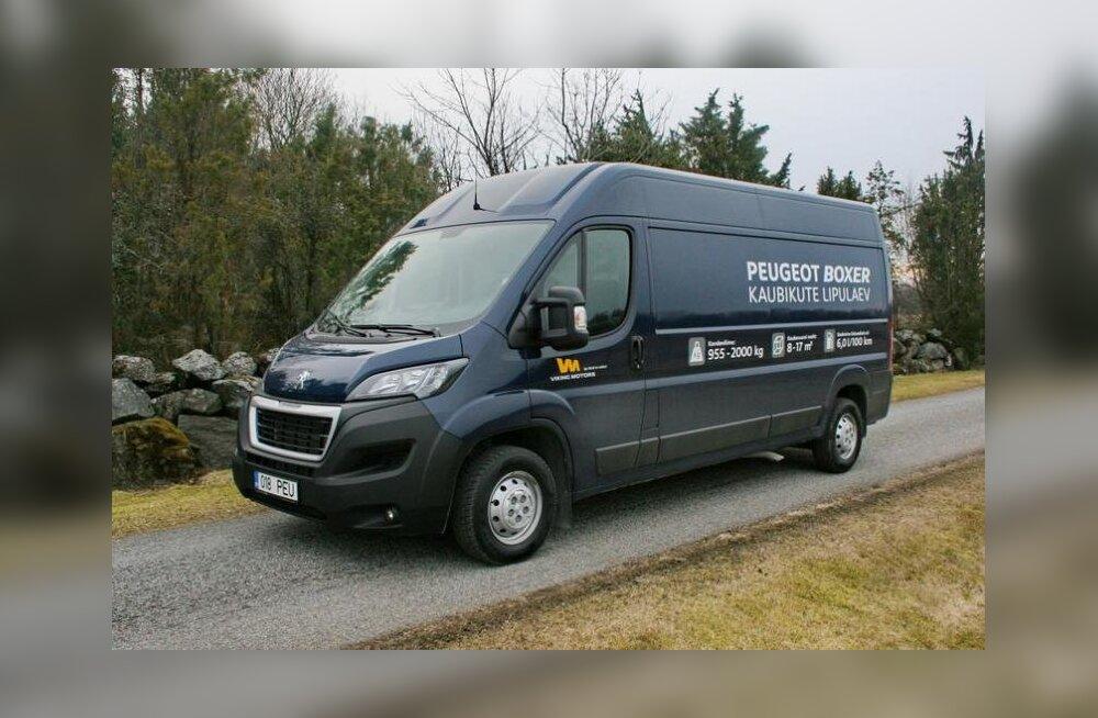 Proovisõit | Peugeot' kaubik Boxer on teistele püüdmatu