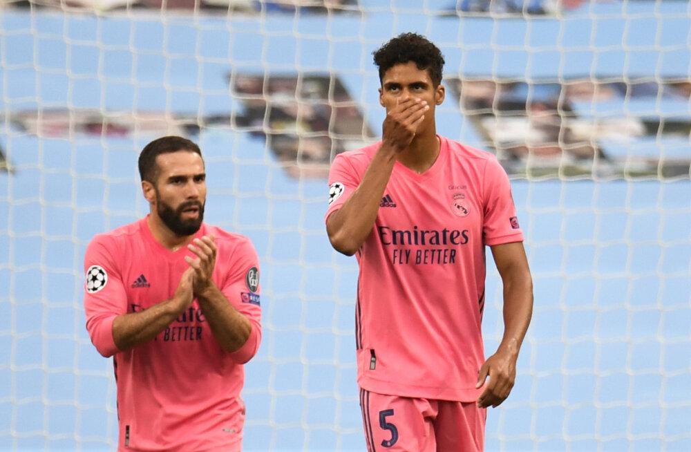 Madridi Reali patuoinas Varane: mina vastutan selle kaotuse eest