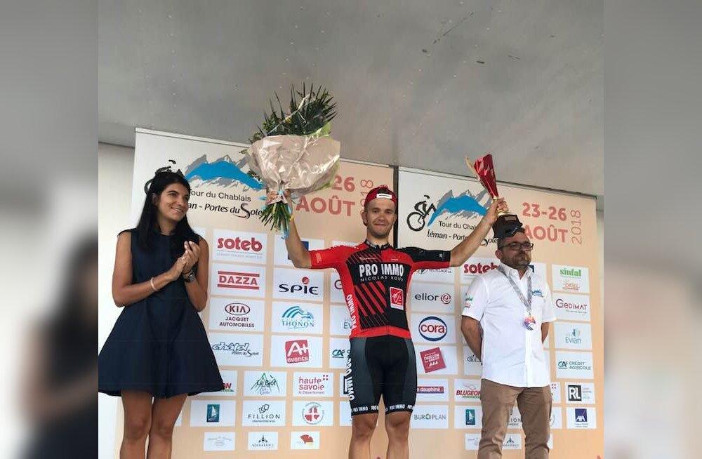 Karl Patrick Lauk võitis Tour du Chablais' avaetapi