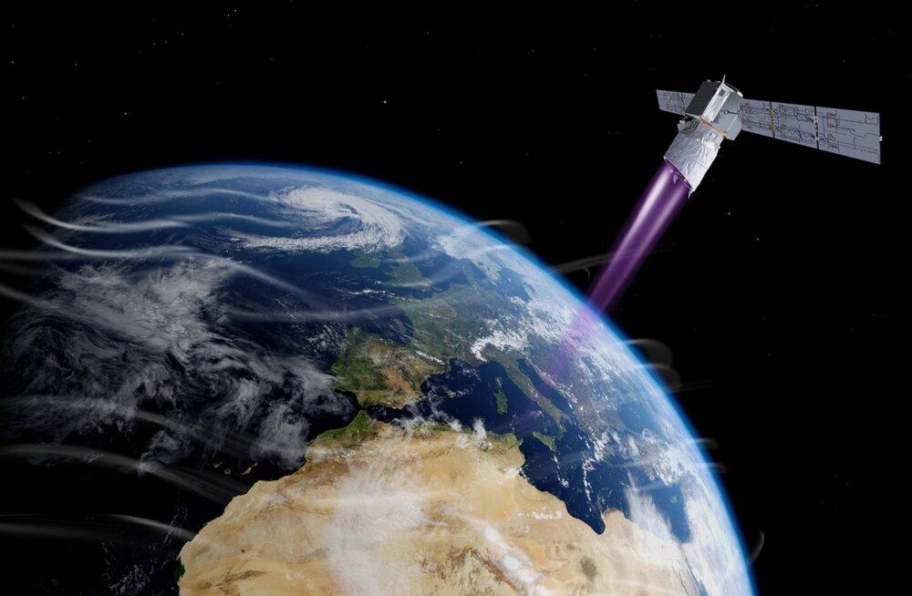 Tihe liiklus: esimene aktiivsete satelliitide kokkupõrke vältimise manööver kosmoses