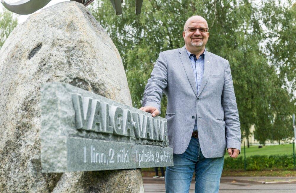 Vents Armands Krauklis, Valka linnapea