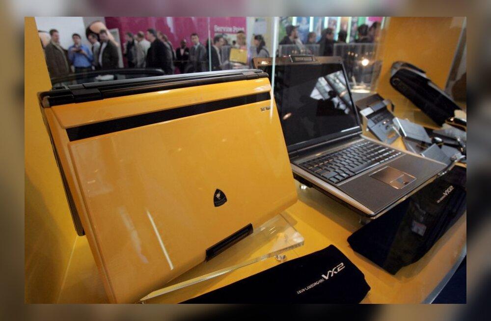 Lamborghini sülearvutid märtsis CeBIT-messil