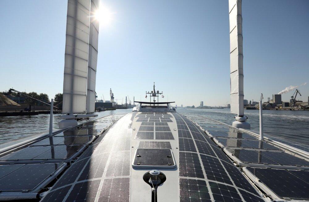 Vesinikuenergiaga laev Energy Observer. Uue enegialahenduse näide.