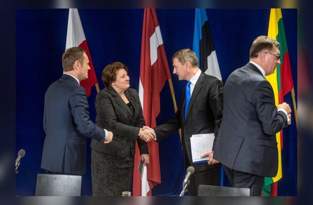Täna kohtusid Tallinnas Baltimaade ja Poola peaministrid.